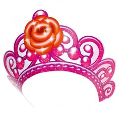 Tiaras Barbie Pink Shoes, Amscan RM250158, Pack of 6 pieces