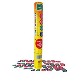 "Multicolor ""La multi ani"" Confetti Shooter, 40 cm, Radar TUN.8240.LMA, 1 piece"