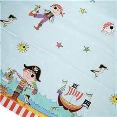 Pirate Plastic Table Cover, 180 x 120 cm,Qualatex 50884, 1 piece