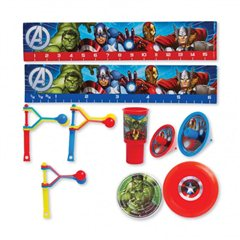 Avengers  Mega Mix Value Pack, Amscan RM393375-55, Pack of 48 pieces
