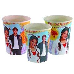 Pahare carton High School Musical pentru petrecere copii, 250ml, Amscan 551382, Set 8 buc
