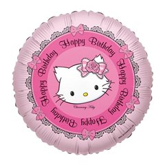 Balon folie 45cm Charmmy Kitty Happy Birthday, Anagram 665896