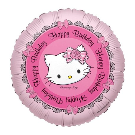 Charmmy Kitty Hearts Foil Balloon 45cm, Anagram 665896