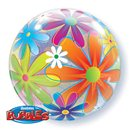 "Bubbles 22"" Flori, Qualatex 32302"