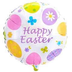 Balon folie 45cm Happy Easter, Amscan 10841