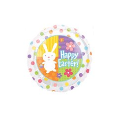 Balon folie 45cm Happy Easter, Amscan 119629