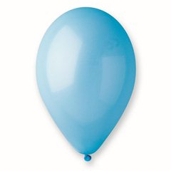 Light Blue 09 Latex Balloons , 8 inch (21 cm), Gemar A80.09