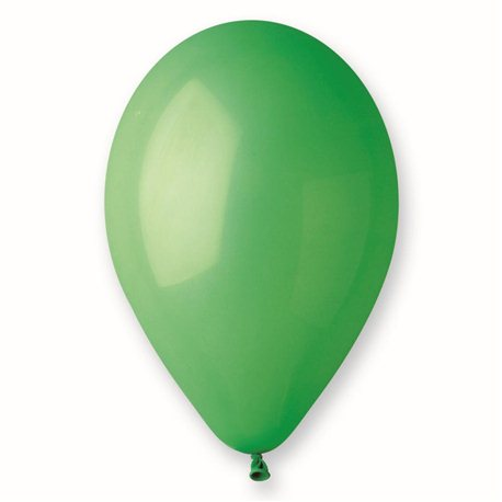 Baloane Latex 21 cm, Verde 12, Gemar A80.12