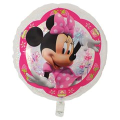 Balon Folie 55 cm Holografic Minnie Mouse, Amscan 32925