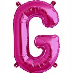 Balon folie litera G magenta - 41cm, Northstar Balloons 00511