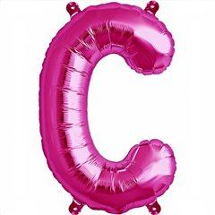 Balon folie litera C magenta - 41cm, Northstar Balloons 00507