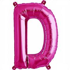 Balon folie litera D magenta - 41cm, Northstar Balloons 00508