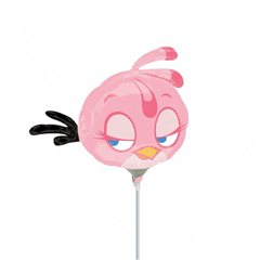 "Balon Mini-Figurina Angry Birds Pink - 9""/23cm, Amscan 2720102"