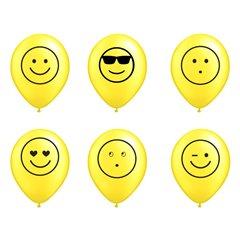 Emoticon Latex Balloons , Radar EMOTICON