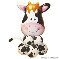 DIY Balloons Decoration - Smarty Cow