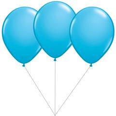 Light blue Latex balloons bouquet, Gemar BB.G90.LIGHTBLUE