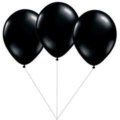 Black Latex balloons bouquet, Gemar BB.G90.BLACK