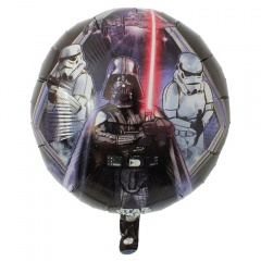 Balon Folie 45cm Star Wars -Darth Vader, Amscan 31919