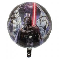 Balon Folie 45cm Star Wars -Darth Vader, Amscan 31919