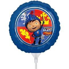 "Mike the Knight Air Filled Foil Balloon - 9""/23cm, Amscan 26436"