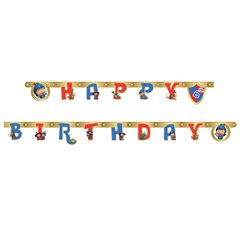 Mike the Knight Add an Age Letter Banner 1.6 m, Amscan 996107, 1 piece