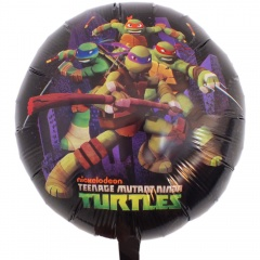 Teenage Mutant Ninja Turtles Foil Balloon - 45cm, Amscan 32920