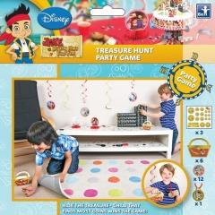 Disney Games Jake & Neverland Pirate Treasure Hunt, Amscan 996854