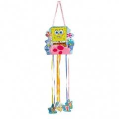 Pinata Sponge Bob cu Sfori, Amscan 998296, 1 bucata