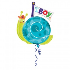 It's a boy SuperShape Foil Balloon, 68 x 73cm, Amscan 33660