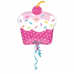 Cupcake Summer Supershape Foil Balloon- 71cm, Amscan 29305