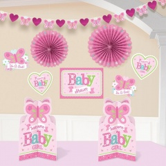 Kit decor Welcome Little One, Amscan 240888, Set 10buc