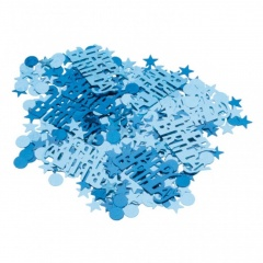 Blue Sparkle Party Confetti, Amscan 500180