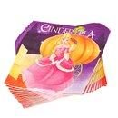 Cinderella Party Luncheon Napkins, 33 cm, Radar 61290, Pack of 20 pieces