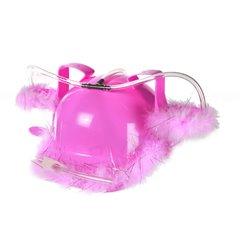 Casca party roz cu suport pentru bauturi, Radar 93/2065