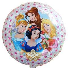 Balon folie 45cm holografic cu Printese Disney, Amscan 32928