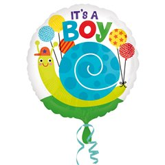"It's a Boy Foil Balloon - 18""/45cm, Amscan 33646"