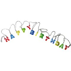 Happy Birthday  Light chain with 15 LED  - 2.30m, Radar 57/8011
