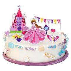 Decoratiuni tort Princess pentru fetita, Radar 251.06, Set 10 buc