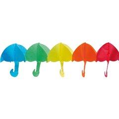 Ghirlanda decorativa cu umbrelute multicolore - 4m, Radar 545.07
