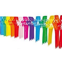 Ghirlanda decorativa cu panglici multicolore - 4m, Radar 545.65