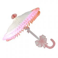 Decor Umbrela roz 60cm