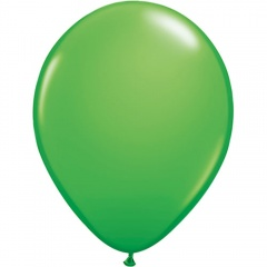 """5"""" Spring Green Latex Balloons, Qualatex 25571, Pack of 100 pieces"""