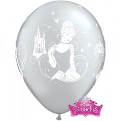 "Baloane latex 11""/28cm Cinderella,  Qualatex  18705"