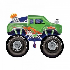 Balon folie figurina Monster Truck, Amscan 27385