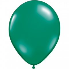 "Baloane latex 11""/28cm Emerald Green, Qualatex 43744"