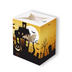 Lampion decorativ Halloween- Yellow,  Radar 0869, 1 bucata