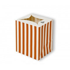 Lampion decorativ cu dungi - Orange Stripes, Radar 5079, 1 bucata