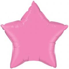 Balon folie roz metalizat stea - 45cm, Northstar Balloons 00374
