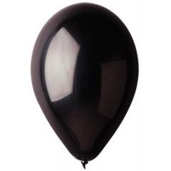 Baloane Latex 21 cm, Negru 14, Gemar A80.14