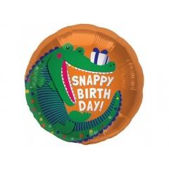 Balon Folie 45 cm Snappy Birthday, Northstar Balloons 00847